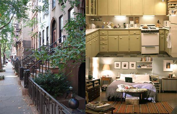 $9,650,000 taka jest cena za ikoniczny apartament w  Upper East Side na Manhattanie. Z pensją pisarki (i to w tempie jakim Carrie pisała) naszej bohaterki nie byłoby stać.