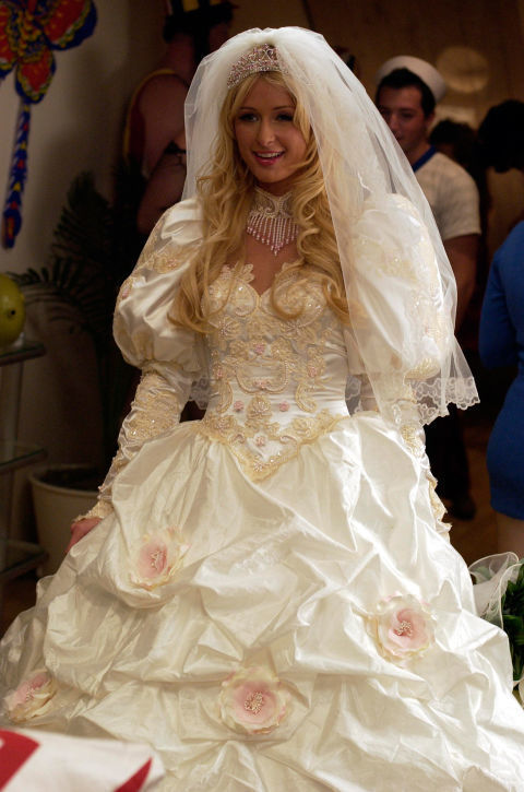 najbrzydsze sukienki ślubne srebrnego ekranu nie możemy