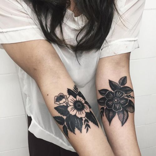 Czarny Tatuaż Na Ręce Te Wzory To Magia