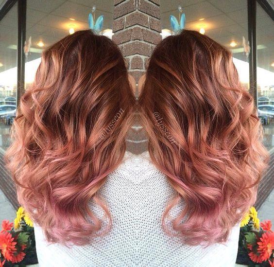 Rose Gold I Truskawkowy Blond Najmodniejsza Koloryzacja