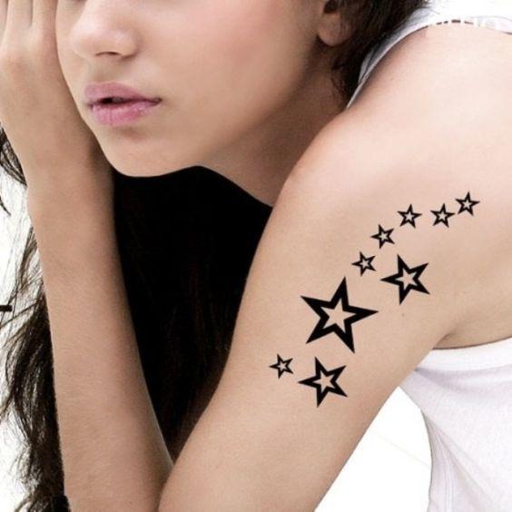 Tatuaż Gwiazdki 20 Najbardziej Uroczych Wzorów Dla Dziewczyn