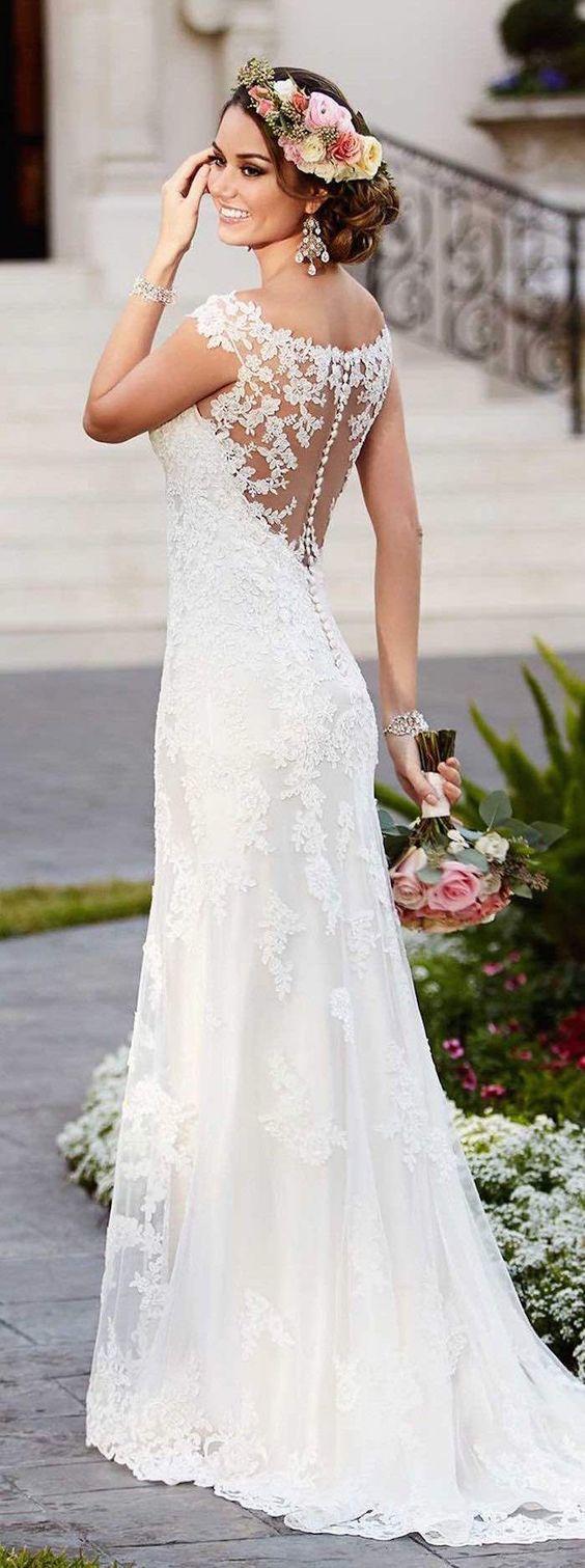 762a58e2a5 Koronkowe suknie ślubne - 25 niezwykłych propozycji dla Panien Młodych