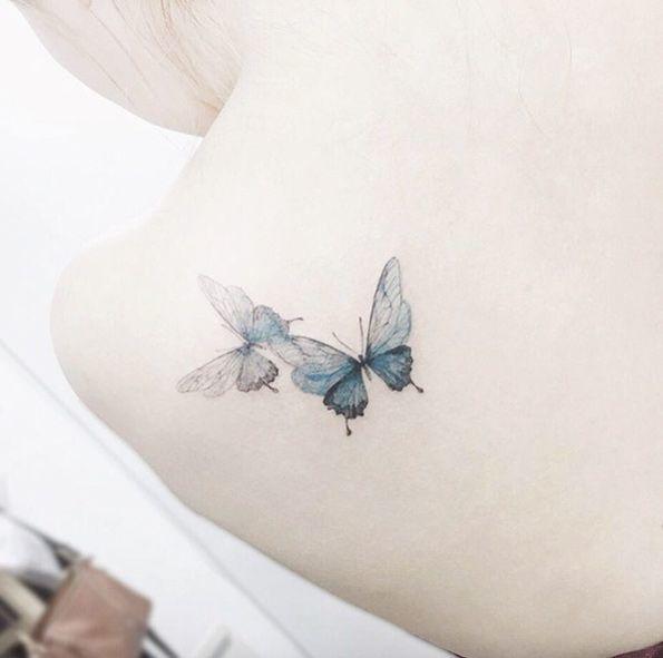 Butterfly Tattoos śliczne Tatuaże Z Motywem Motyla