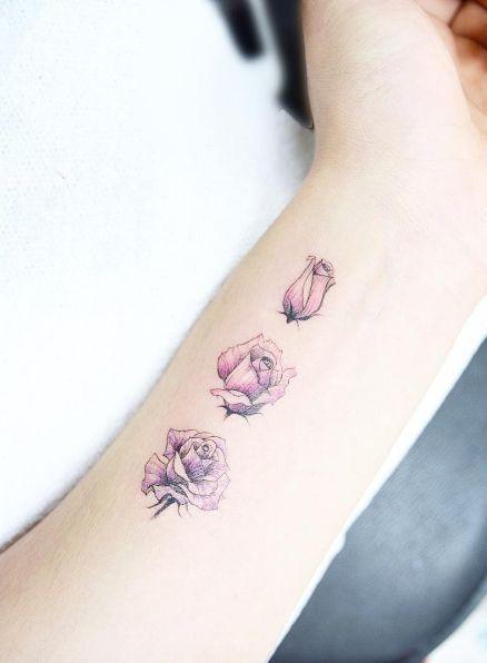 Małe Tatuaże Kwiaty Te Wzory To Prawdziwe Perełki