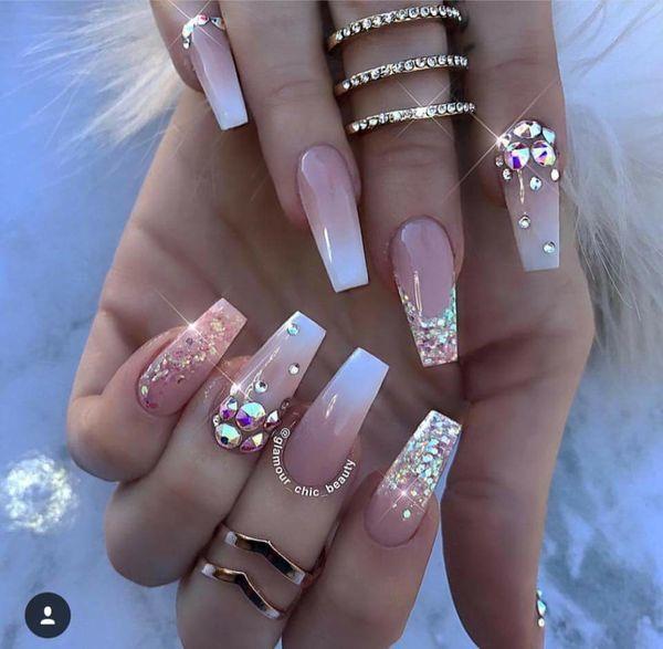 Manicure 2018 Baby Boomer Glamour Idealna Propozycja Na Manicure