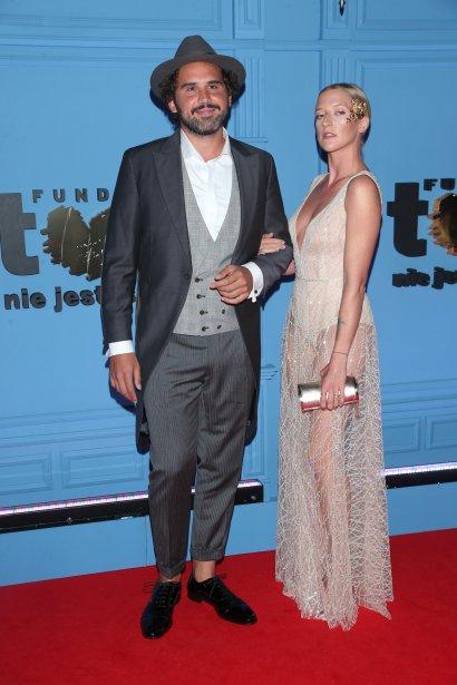 Lara Gessler i Piotr Szeląg pierwszy raz oficjalnie razem pojawili się na balu TVN we wrześniu 2019 roku