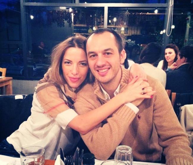 Ewa Chodakowska z mężem Lefterisem Kavoukisem