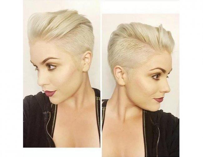 Stawiamy Na Krótkie Fryzury Blond Top 20 Propozycji Prosto Od Fryzjera