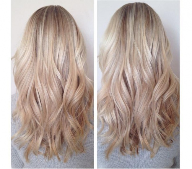 Ombre hair tumblr black to blonde