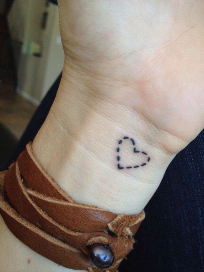 Mały Tatuaż Słodki I Dziewczęcy 30 Najmodniejszych Wzorów