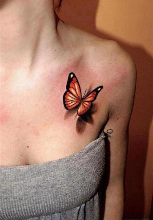 20 Dziewczęcych Tatuaży 3d Realistyczne Wzory Które Cię