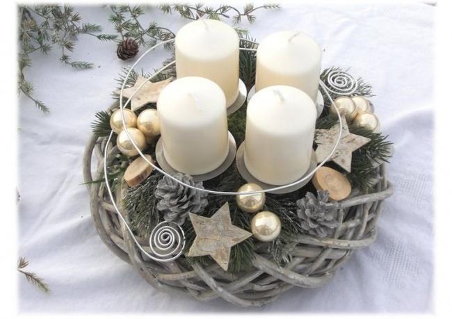śliczne Stroiki świąteczne Na Boże Narodzenie 30 Super