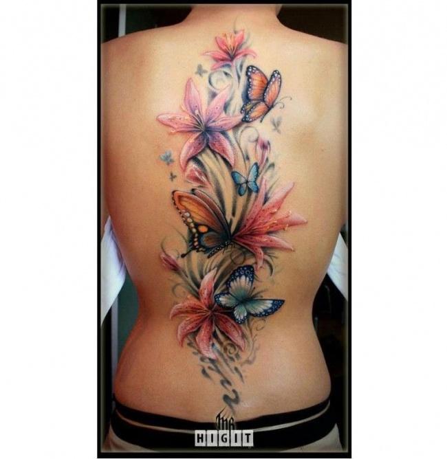 Duże Tatuaże Na Plecach Wzory Jak Dzieła Sztuki