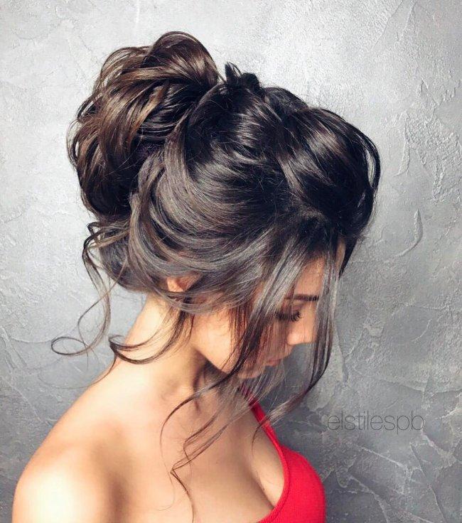 fryzury na wesele dla wiadkowej druhny lub go cia