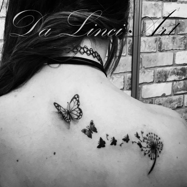 Tatuaż Dmuchawiec Nowe Ciekawe Wzory Z Waszym Ulubionym Motywem