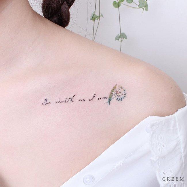Tatuaż Na Kości Obojczykowej Piękne Wzory Które Ozdobią