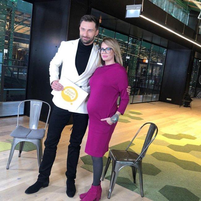 Zobaczcie, jak Weronika Marczuk wygląda tydzień przed porodem!