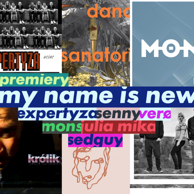 Muzycy My Name Is New